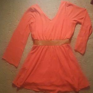 Charlotte Ruese Coral Dress